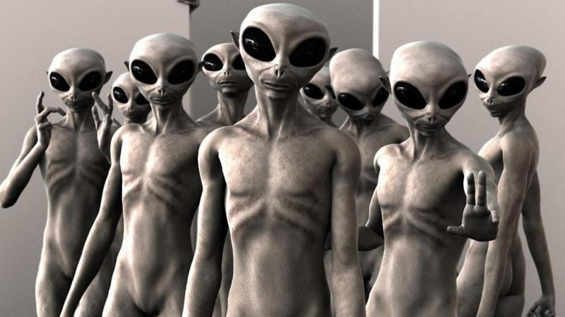 Gli alieni sono tra noi