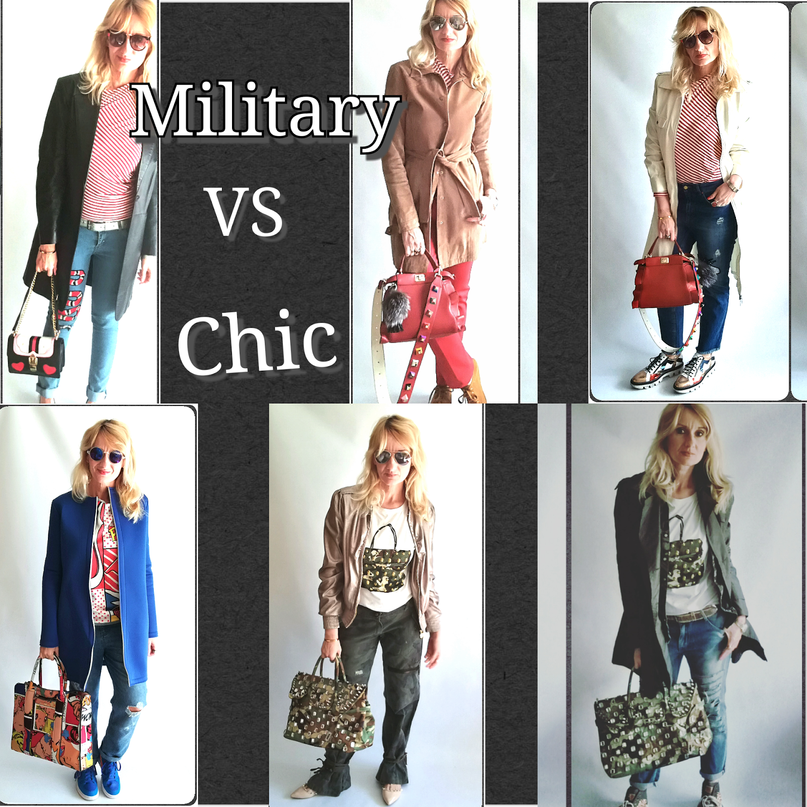 Military (vs) Chic: per un outfit a prova di Meteo capriccioso