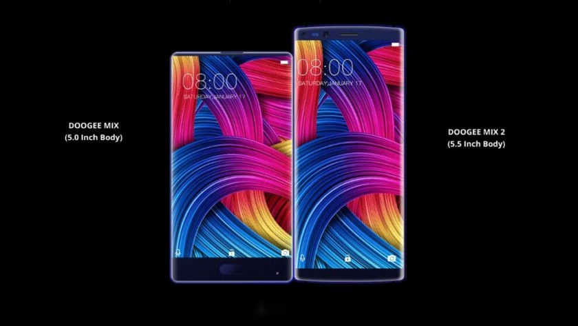 Doogee Mix 2, 4 totocamere e display 18:9