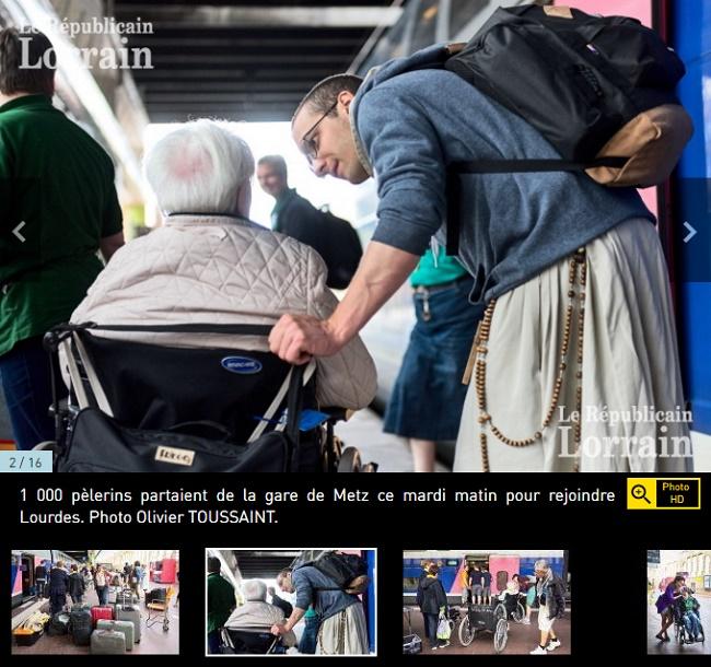 Metz : le TGV pour plus de 1 000 pèlerins