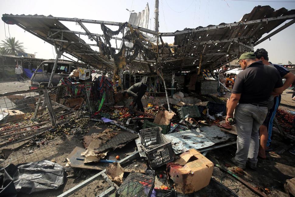 Iraq: 63 persone morte in attentati rivendicati da gruppo terroristico Stato Islamico » Guerre nel M