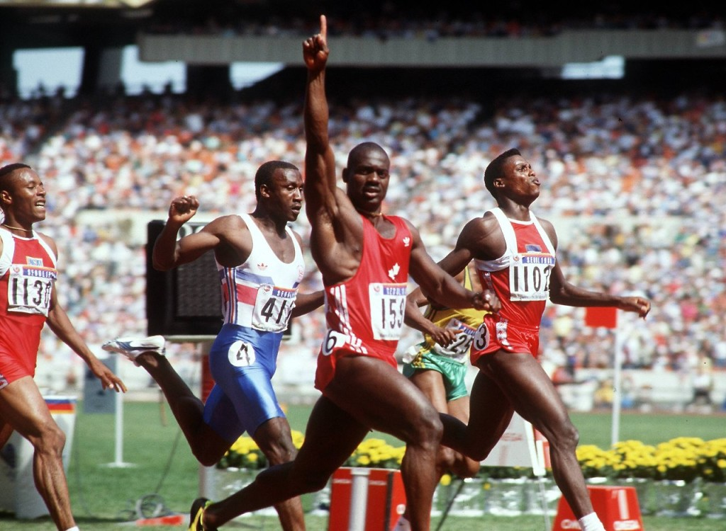 5 marzo 1993: Ben Johnson di nuovo positivo ad un test antidoping