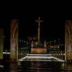 Passeggiando di notte a Lourdes