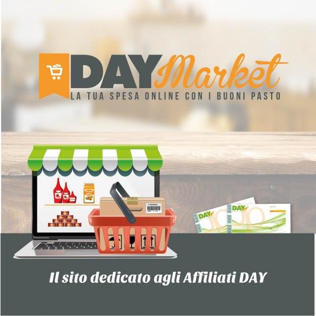 Hai un bar e ritiri buoni pasto? Puoi risparmiare con Day Market, lo shop e-commerce di Day Gruppo UP per gli esercizi affiliati