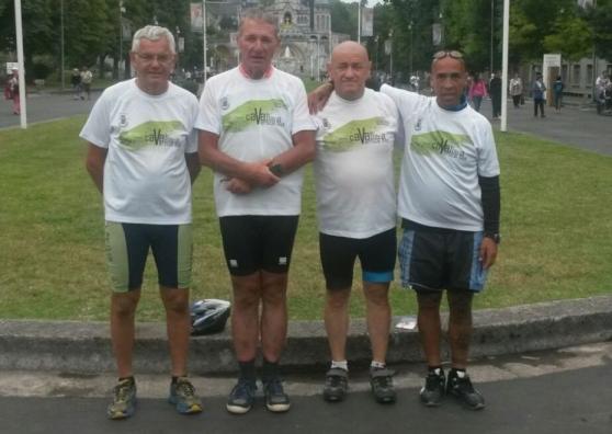 980 Km in bicicletta fino a Lourdes
