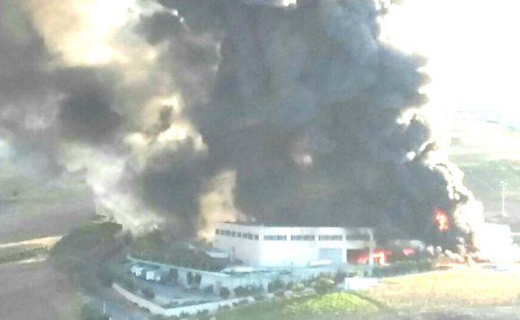 Incendio ad Alcamo. Inchiesta per disastro ambientale