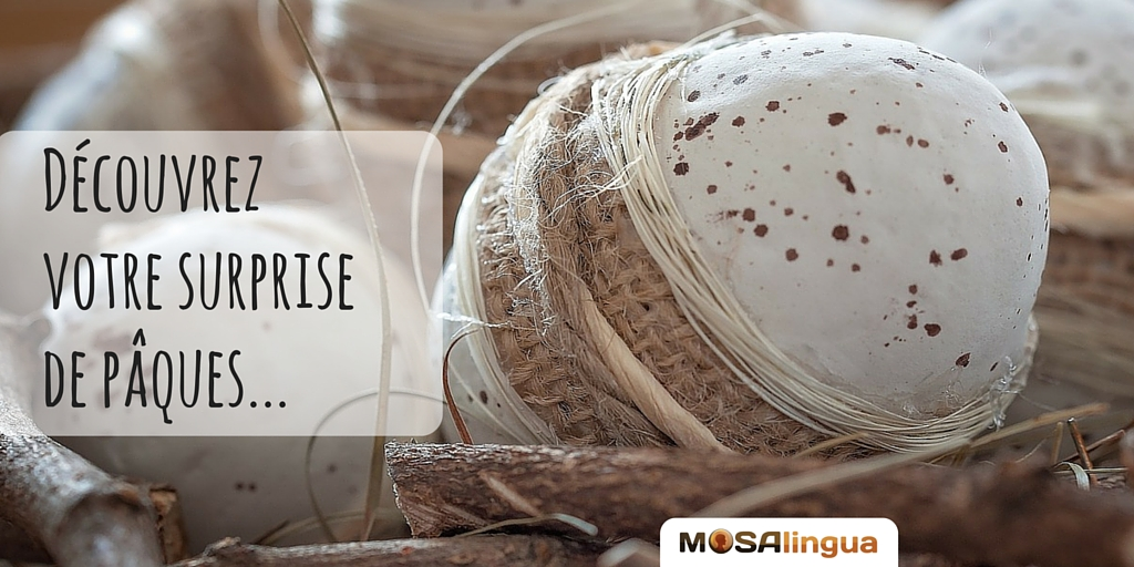 Notre Surprise de Pâques: Offre et cadeaux de MosaLingua