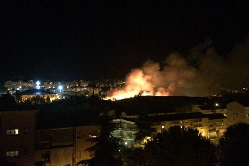 Enna. La festa di Sant'Anna funestata da un violento incendio causato dai fuochi d'artificio