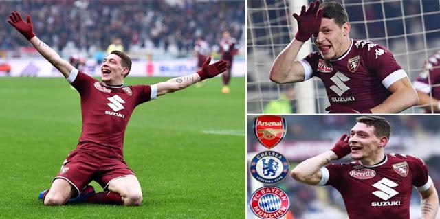 Calcio. Mercato Torino. 'Gallo' - Belotti, tutti lo vogliono, tutti lo cercano.