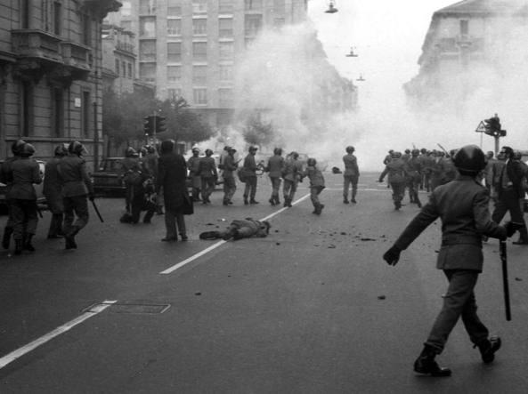 12 aprile 1973: A Milano un corteo di neofascisti causa la morte dell'agente Marino