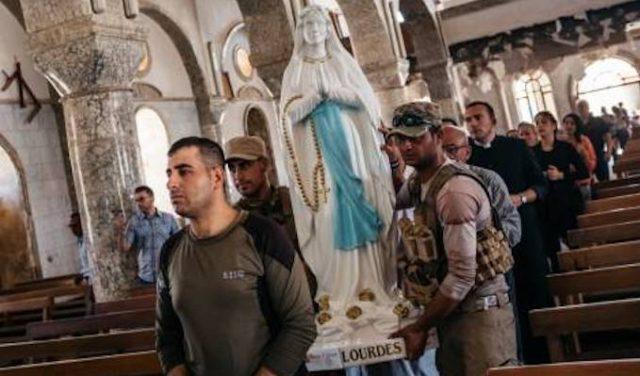 In Iraq tornano le statue della Madonna