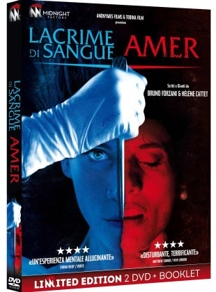Novità in DVD: il doppio cofanetto horror AMER/ LACRIME DI SANGUE