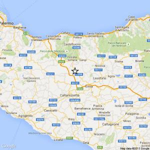 Sicilia, terremoto Ml 2.3 il 22-05-2016 ore 07:08 provincia Palermo – Gangi