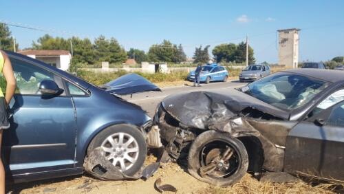 Grave incidente su SS115, coinvolte 3 auto
