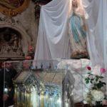 Foto reliquie Santa Bernadette ad Acireale