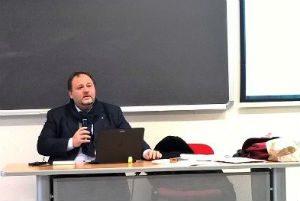 Seminario dell'Ordine dei Giornalisti a Enna presso l'Università Kore del sociologo Francesco Pira