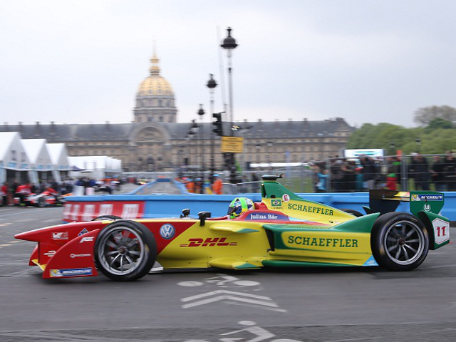 Formula E: Di Grassi, Vergne e Buemi sul podio a Parigi