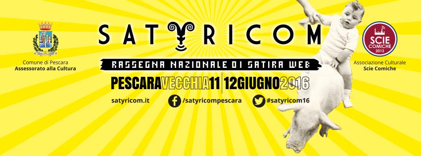 Estate 2016, eventi culturali in Abruzzo: Satyricom a Pescara l'11 e 12 giugno