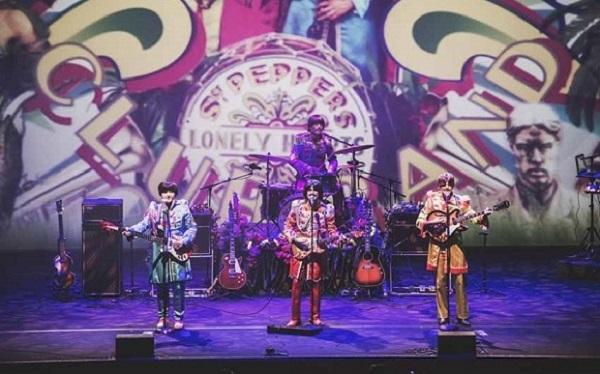Al XXIX CivitaFestival i BeatleStory preasentano l'omaggio per i 50 anni di Sgt. Pepper