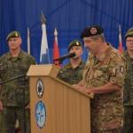 Cambio al comando del Joint Regional Detachment Centre (JRD-C) in Kosovo