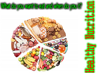 Healthy Foods | What do you want to eat and when do you do it ?
