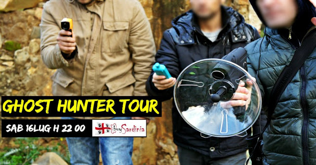 GHOST HUNTER TOUR CON BUYSARDINIA | SAB 16 LUG