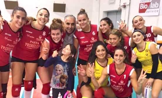 Volley B1. La Primeluci vince in Puglia la prima trasferta