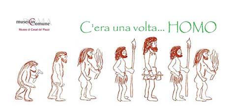 C'era una volta... Homo al Museo di Casal de' Pazzi a Roma