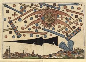 14 aprile 1561: Il cielo di Norimberga sconvolto da uno strano evento