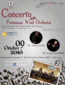 A Gioiosa Marea concerto della PentaMusa Wind Orchestra