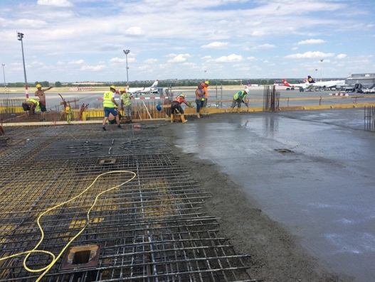 Construction of new pier in full swing at Budapest Airport | Aviation