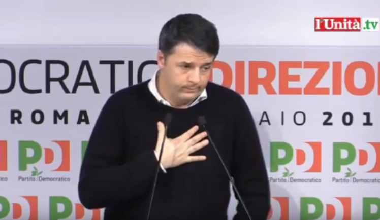 Matteo Renzi decide per il Congresso senza dare garanzie al Governo sulla data del voto