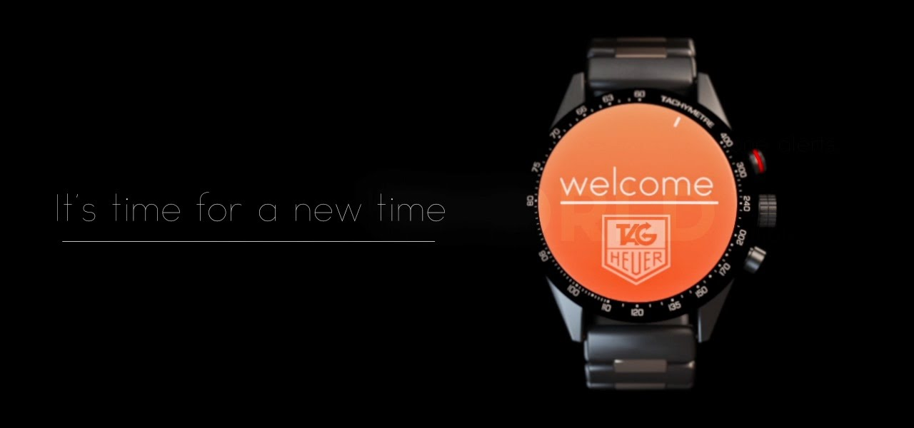 Tag Heuer Connected a breve in Italia