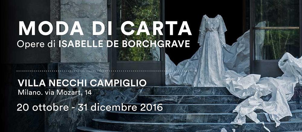 Milano: scoprire la MODA DI CARTA in mostra a Villa Necchi Campiglio