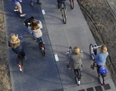In Olanda la prima pista ciclabile solare al mondo