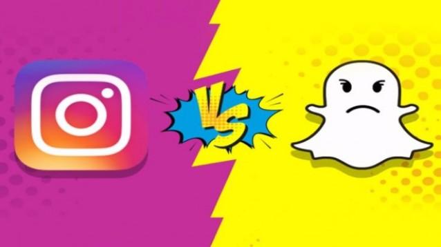 Instagram e Snapchat: continua la battaglia a suon di novità