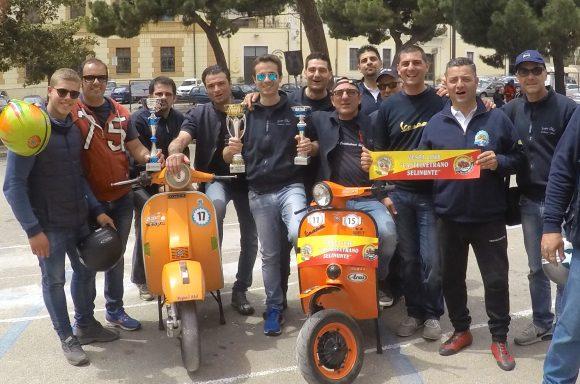 Vespa Club CVetrano vince 1a tappa del Campionato Gimkana