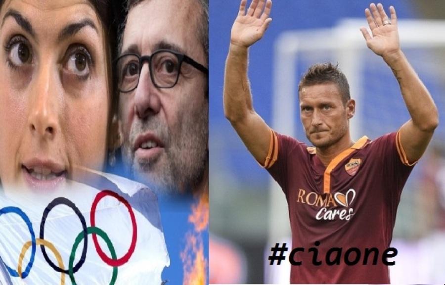 La partita di pallone, arbitra Francesco Totti