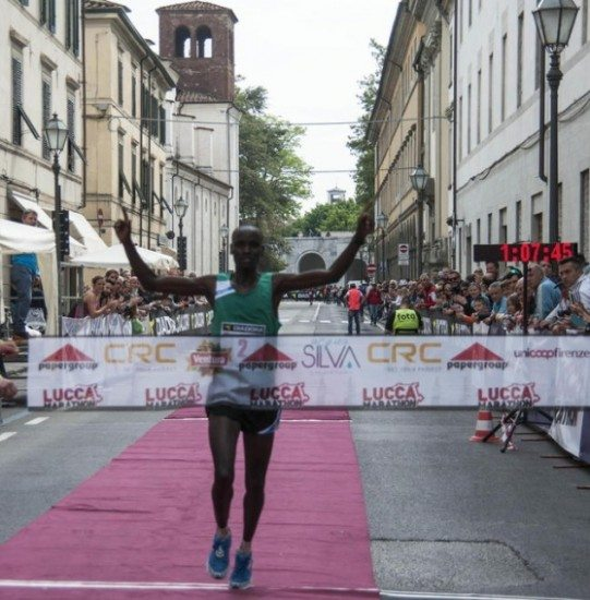 Lucca Half Marathon 2016: vince il keniano marchigiano Rono Julius Kipngetich