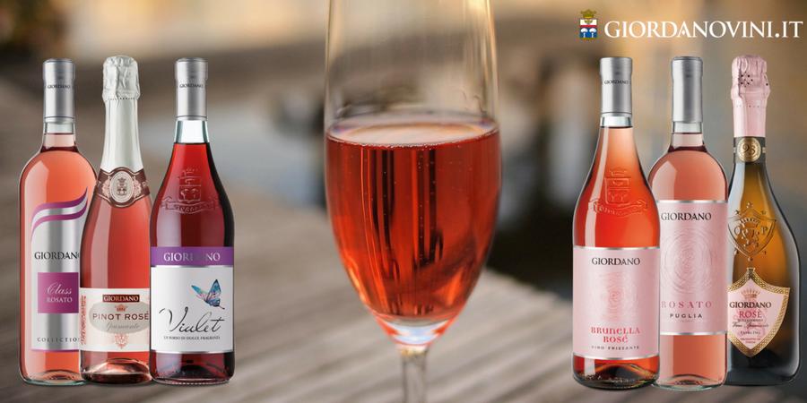 Operazione Rosato: 6 vini rosé per portare in tavola una fresca ventata di gusto, parola di Giordano Vini!