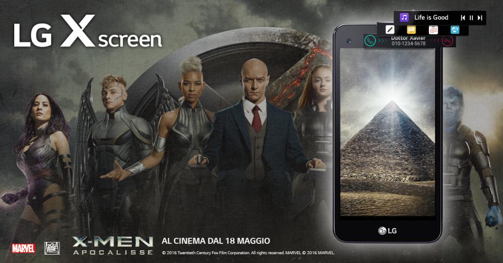 LG X screen: lo smartphone con i superpoteri
