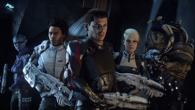 Trapelano nuove immagini di Mass Effect Andromeda in rete
