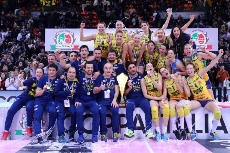 Volley, finale Coppa Italia donne: Imoco batte Modena 3-0