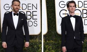 Golden Globes: bacio gay tra Ryan Reynolds e Andrew Garlfield [VIDEO]