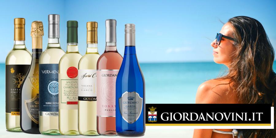 I 7 migliori vini Giordano per dare il benvenuto all'Estate: bollicine... e non solo!