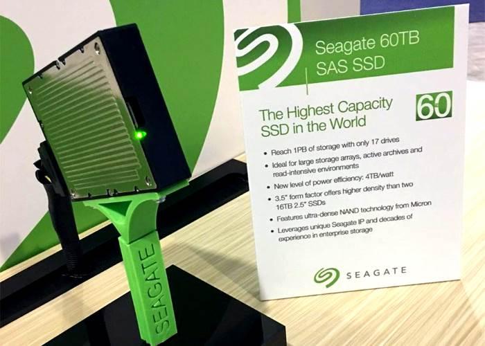 Seagate ha presentato il disco SSD più grande al mondo