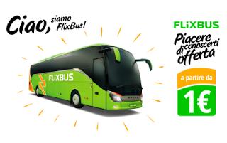 FlixBUS: 10% di Sconto sulle Tratte Nazionali