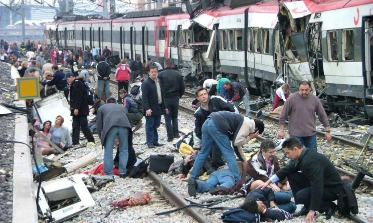 11 marzo 2004: Quattro bombe sconvolgono Madrid