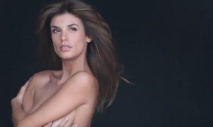 Elisabetta Canalis nuda contro le pellicce [VIDEO]