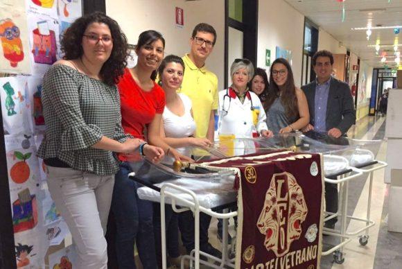 Leo Club Castelvetrano dona culle al reparto pediatrico